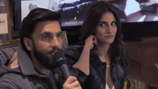 Ranveer Singh & Vaani Kapoor Befikre London press conference & Avtar Panesar
