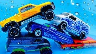 Carros para niños que Cambian de Color con el Agua - Coches de Carrera Hot Wheels