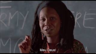 Sarafina, 1992 - People can defeat the armies scene