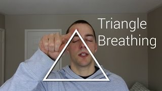 Decrease Anxiety Instantly with Triangle Breathing