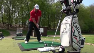 Joe Miller long drive champ tells us all his secrets to success Part 1