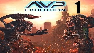 Alien Vs. Predator: Evolution (iOS) - Walkthrough Part 1 - Alien Missions 1-3