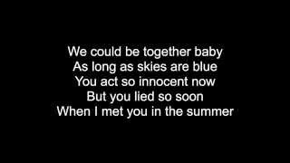 Summer - Calvin Harris with lyrics on screen! HQ