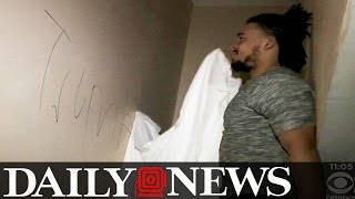 Giants FB Nikita Whitlock Reportedly Has Home Vandalized With Racial Slurs