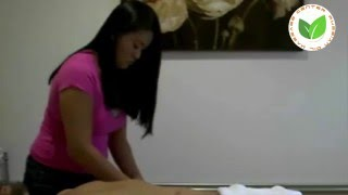 Lower body and upper body massage for man , Relaxing Massage by massage room