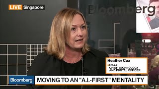 USAA's Cox on Driving Innovation, AI, Industry Disruption