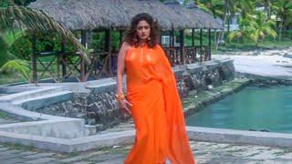 Madhuri Dixit Hot Glamorous Scenes Of Vintage Songs