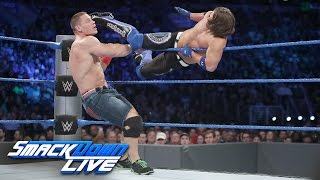 John Cena & Dean Ambrose vs. AJ Styles & The Miz: SmackDown LIVE, Sept. 13, 2016