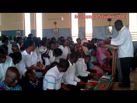 Azire Parish Choir Inaugural Mass Fr  Valentine 3