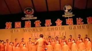 ITB Students Choir sings Gamelan