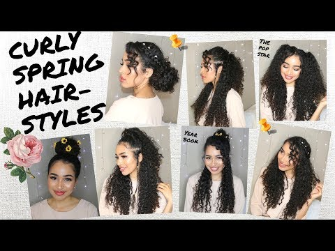 Xxx Mp4 7 Spring Summer Hairstyles For Naturally Curly Hair By Lana Summer 3gp Sex
