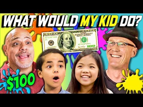 CAN PARENTS GUESS WHAT THEIR KID DOES WITH 100 Ep. 1