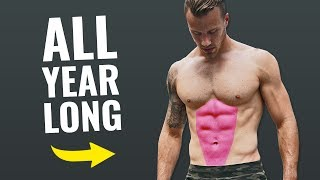 5 Tips for Having a Six Pack All Year Long (WHILE GAINING MASS!)