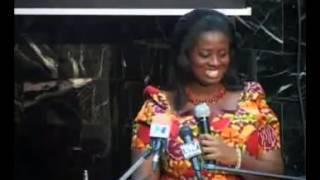 Victoria Hammah's speech miraculously vanished