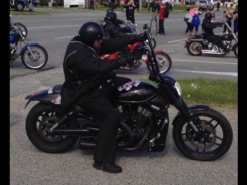 National Run 1000 Rebels Bikies bring suburb to standstill