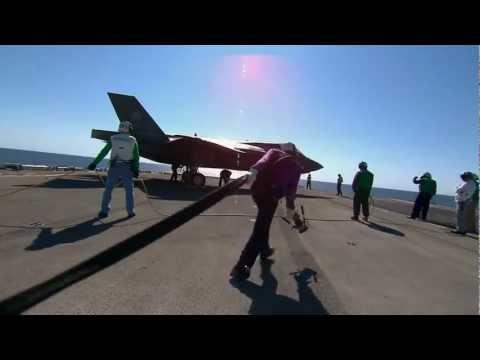 Ordumuzun En Güçlü Silahı F35 F 35B Ship Suitability Testing HD