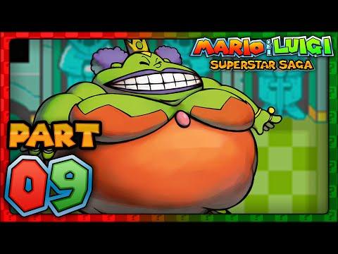Mario & Luigi Superstar Saga Part 9 Queen Bean