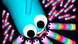 New Game Slither.io // New Update Slither.io Hacked // 1.000.000 + Mass