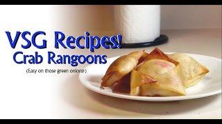 VSG Recipes - Baked Crab Rangoons