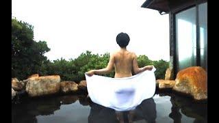 あ〜!この解放感!女湯も眺め良しの露天風呂!360VR温泉美人#14  白浜温泉 千畳の湯(和歌山県)360VR Video Japan's hot springs
