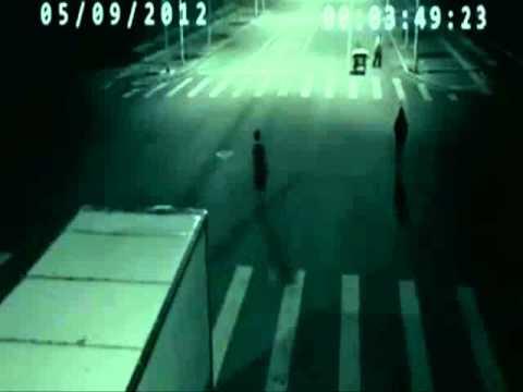 Cámara de seguridad en China Graba Teletransportación.