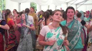 Ukraine Festival 2015 Gaura Arati Kirtan by Bada Haridas Prabhu