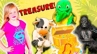 ASSISTANT Surprise Hideout TheEngineeringFamily Funy Kids Treasure Hunt with Mickey Mouse