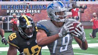 Madden NFL 18 Detroit Lions Franchise - Detroit Lions vs Pittsburgh Steelers (EP7 Lions vs Steelers)