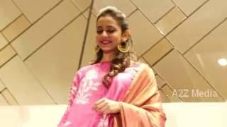 Romantic Heroine Rakul Preet Singh Hot Ramp Catwalk In Fashion Show | A2Z Media