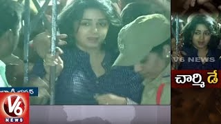 Tollywood Drug Case | Actress Charmi's SIT Investigation Under Process | V6 News