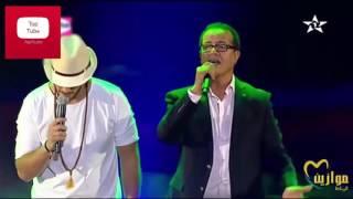 سعد المجرد يغني مع والديه في مهرجان موازين 2016