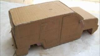 Cardboard Cars (Part 1)