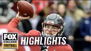 Washington State vs Stanford   Highlights   FOX COLLEGE FOOTBALL