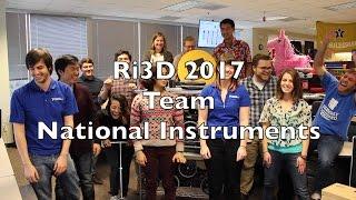Meet Team National Instruments - Robot In 3 Days!