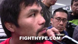 MANNY PACQUIAO BREAKS DOWN CANELO VS. KHAN; COMPARES IT TO HIS FIGHT WITH OSCAR DE LA HOYA