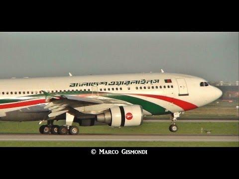 Xxx Mp4 Biman Bangladesh Airbus A310 S2 ADK Landing At Rome Fiumicino Airport 3gp Sex