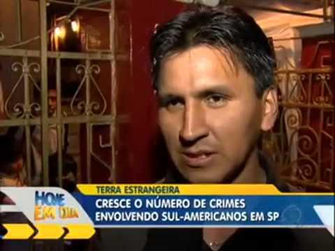 pelea de paraguayo y boliviano en são Paulo