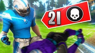 Tilted Towers Was A War Zone!! 21 Elims