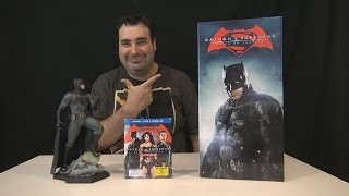 Batman v Superman Collector's Edition Blu-ray Unboxing !!!