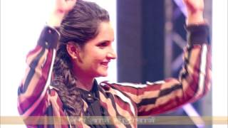 Dance performance by Sania Mirza on Nutricharge anthem