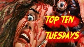 Top Ten Tuesday Ep: 96- Spider Horror Flicks
