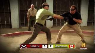 Ultimate Soldier Challenge knife fights PPCLI Cana