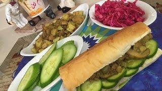 حميسة البطاطه بلحم السريعه المغذيه  ,اكلات عراقيه ام زين  IRAQI FOOD OM ZEIN