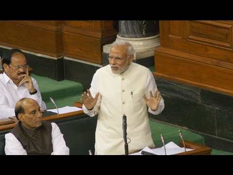 PM Modi brilliant speech at Lok Sabha