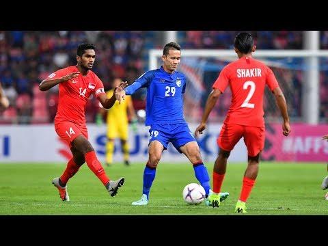 Thailand 3-0 Singapore (AFF Suzuki Cup 2018: Group Stage Full Match)
