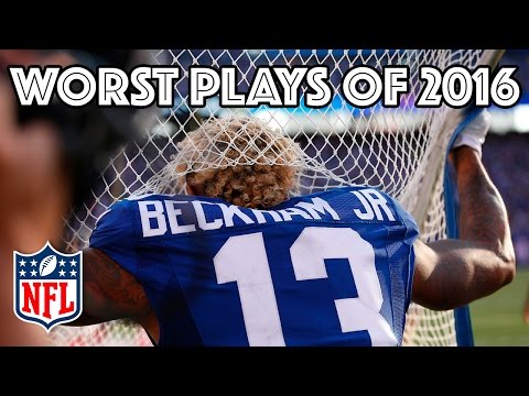 watch Worst Plays of the 2016 Season | NFL Highlights