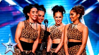 Bespoke Candi go back to the Stone Age | Week 3 Auditions | Britain's Got Talent 2016