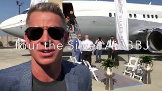 Behind-the-Scenes Tour of our Boeing Business Jet (BBJ)