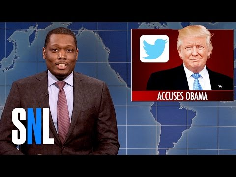 Weekend Update on Donald Trump s Wiretapping Accusation SNL