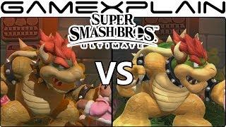 Super Smash Bros. Ultimate Graphics Comparison (Switch vs Wii U!)
